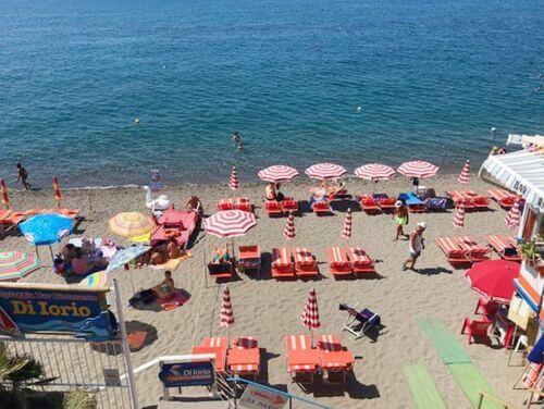 義大利伊斯基亞島攻略 ISOLA D'ISCHIA 必玩 -Spiaggia dei Maronti 海灘