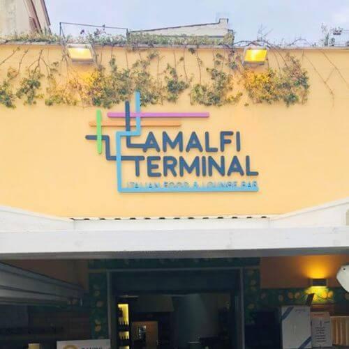 義大利阿瑪菲 Amalfi 必吃 - Amalfi Terminal