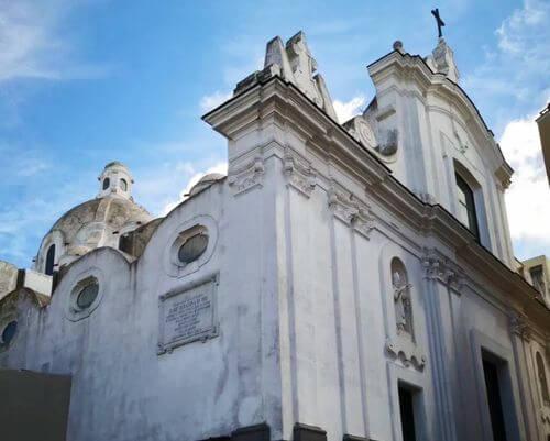 義大利卡布里島 ISOLA DI CAPRI 必玩 - Chiesa Santo Stefano - Capri (na) 聖斯德望堂