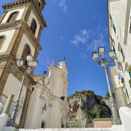"義大利阿瑪菲 Amalfi 必玩 - Chiesa ""Santa Maria Maddalena"" Atrani - (SA) 聖瑪麗亞馬達萊納教堂"