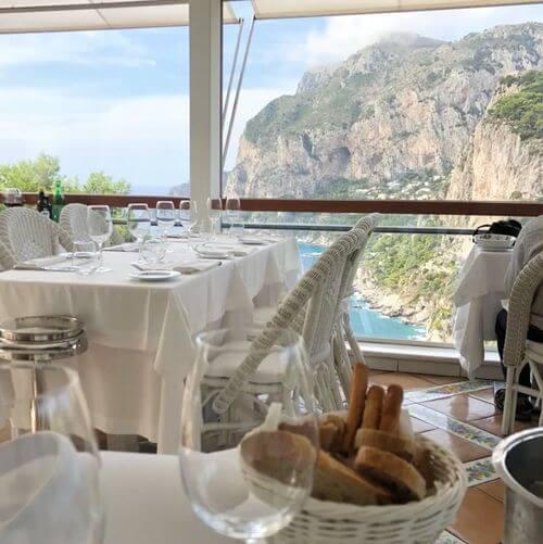 義大利卡布里島 ISOLA DI CAPRI 必吃 - Ristorante Terrazza Brunella