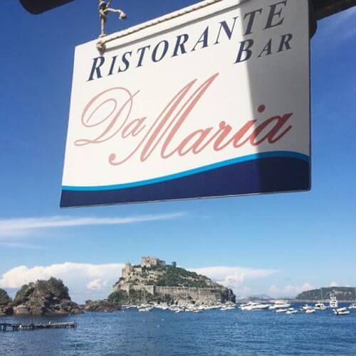 義大利伊斯基亞島攻略 ISOLA D'ISCHIA 必吃 -Hotel Restaurant Da Maria
