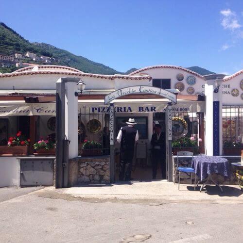 義大利拉維洛 Ravello 必吃 - La Vecchia Cantina - Ristorante Pizzeria