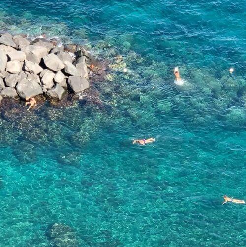 義大利索倫托SORRENTO 必玩 - Spiaggia Pubblica Sorrento 公共海灘