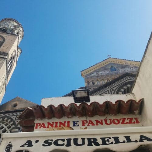 義大利阿瑪菲 Amalfi 必吃 - A'Sciurella - Panini e Panuozzi