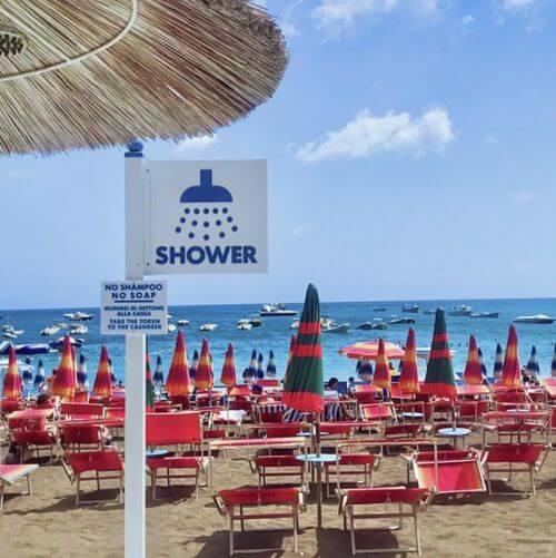 義大利波西塔諾 Positano 必玩 - Positano Spiaggia = Spiaggia Grande 大沙灘