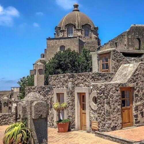 義大利伊斯基亞島攻略 ISOLA D'ISCHIA 必玩 - Castello Aragonese 阿拉貢城堡