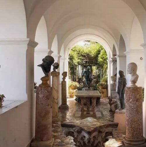 義大利卡布里島 ISOLA DI CAPRI 必玩 - Villa San Michele 聖彌額爾別墅