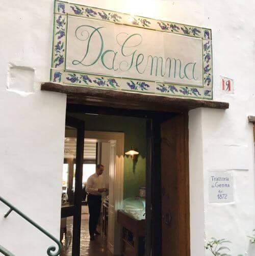 義大利阿瑪菲 Amalfi 必吃 - Trattoria da Gemma