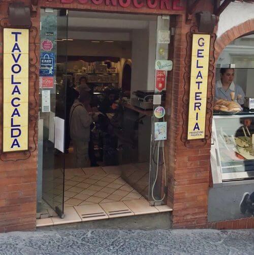 義大利卡布里島 ISOLA DI CAPRI 必吃 - Gelateria Buonocore Capri