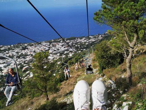 義大利卡布里島 ISOLA DI CAPRI 必玩 - Monte Solaro 索拉羅山