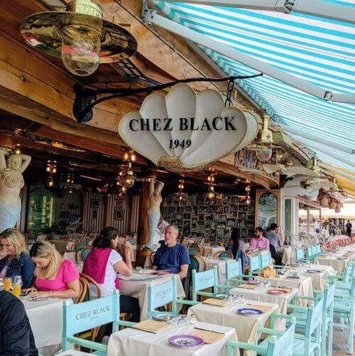 義大利波西塔諾 Positano 必吃 - Ristorante Chez Black