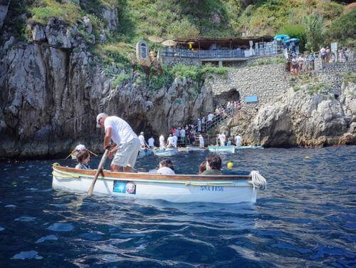 義大利卡布里島 ISOLA DI CAPRI 必玩 - Grotta Azzurra 藍洞