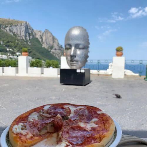 義大利卡布里島 ISOLA DI CAPRI 必吃 - Bar Alberto Capri