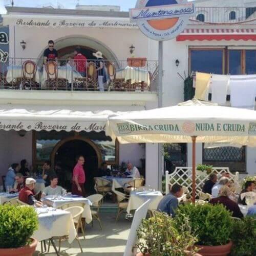 義大利伊斯基亞島攻略 ISOLA D'ISCHIA 必吃 -Ristorante Pizzeria Martinarosa