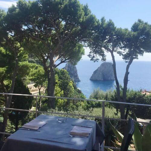 義大利卡布里島 ISOLA DI CAPRI 必吃 - Ristorante Il Geranio
