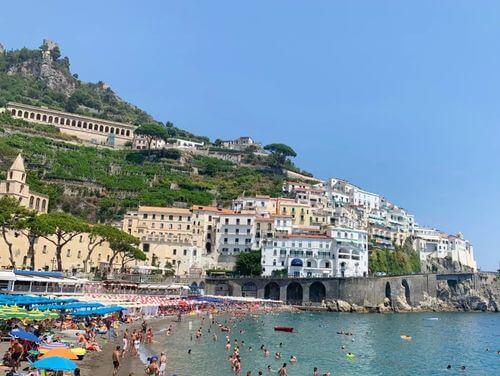 義大利阿瑪菲 Amalfi 必玩 - La Spiaggia di Marina Grande ad Amalfi = Tonino ò beach