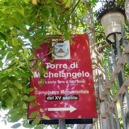 義大利伊斯基亞島攻略 ISOLA D'ISCHIA 必玩 -Torre Guevara detta di Michelangelo 格瓦拉塔 = 米開朗基羅塔