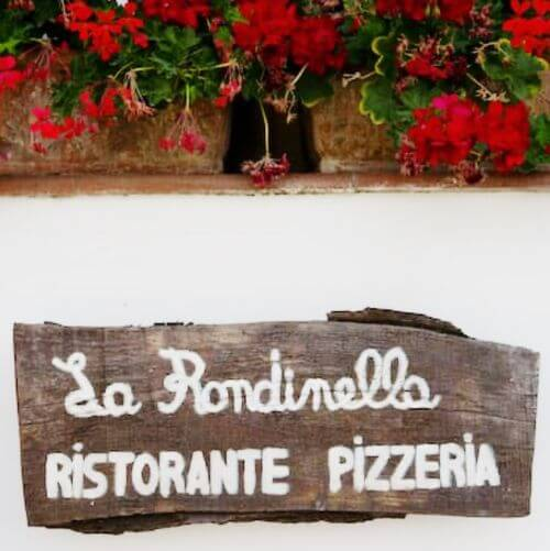 義大利卡布里島 ISOLA DI CAPRI 必吃 - Ristorante Pizzeria La Rondinella