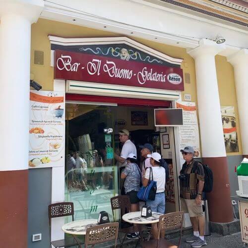 義大利索倫托SORRENTO 必吃 - Bar Gelateria Il Duomo
