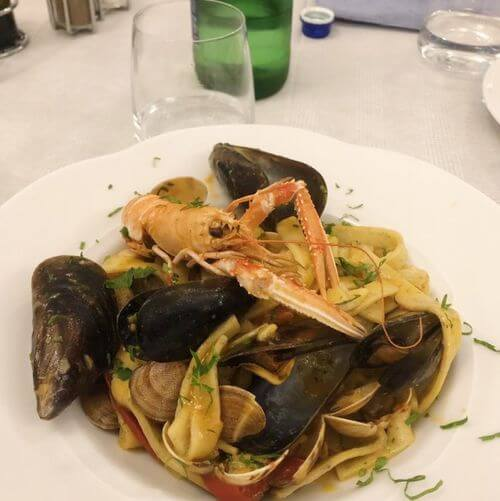 義大利阿瑪菲 Amalfi 必吃 - Ristorante Il Chiostro