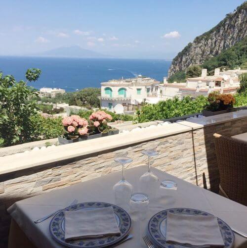 義大利卡布里島 ISOLA DI CAPRI 必吃 - Panorama Capri