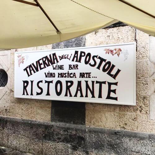 義大利阿瑪菲 Amalfi 必吃 - Taverna degli Apostoli