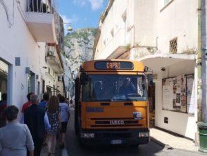 義大利卡布里島 ISOLA DI CAPRI 必玩 - ATC Bus 市公車
