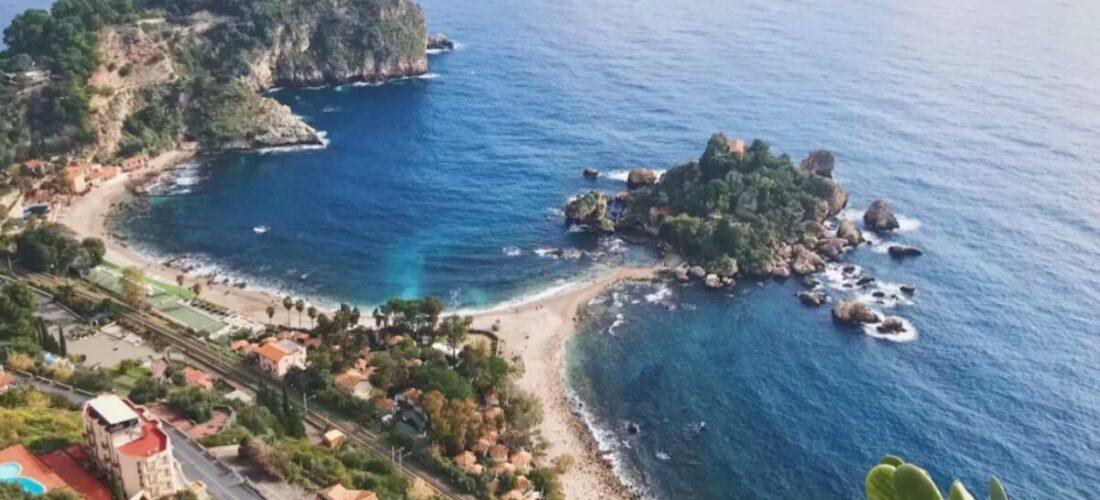 義大利陶爾米納 Taormina (西西里語 Taurmina) 必玩 - Isola Bella 貝拉島 = 美麗島 = 心型島