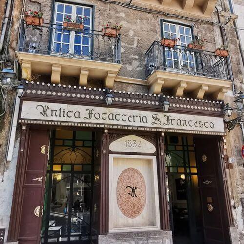 義大利巴勒莫 Palermo 必吃 - Antica Focacceria San Francesco