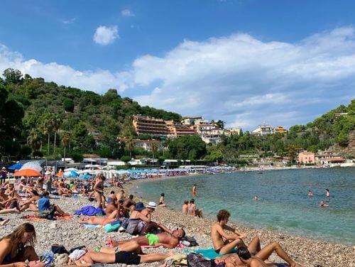 義大利陶爾米納 Taormina (西西里語 Taurmina) 必玩 - Spiaggia Isola Bella = Spiaggia Lido Mendolia