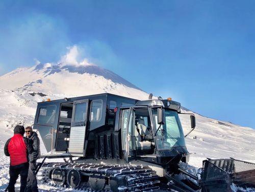 義大利埃特納火山 Etna 必玩 - 越野雪橇車