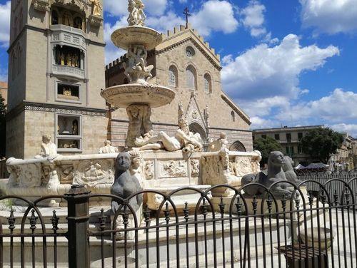 義大利墨西拿 = 美西納 Messina 必玩 - Fontana d'Orione 獵戶座噴泉