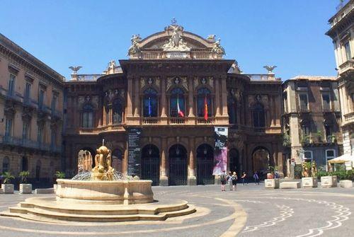 義大利卡塔尼亞 Catania 必玩 - Teatro Massimo Bellini 馬西莫貝利尼劇院