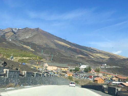 義大利埃特納火山 Etna 必玩 - 登山入口 (南) Rifugio Giovanni Sapienza