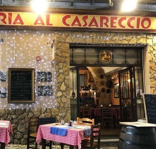 義大利巴勒莫 Palermo 必吃 - Osteria Al Casareccio