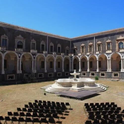 義大利卡塔尼亞 Catania 必玩 - Monastero dei Benedettini di San Nicolò l'Arena 聖尼各老本篤會修道院