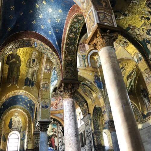 義大利巴勒莫 Palermo 必玩 - Santa Maria dell'Ammiraglio = La Martorana 海軍元帥聖母教堂 = 拉瑪爾特拉納教堂