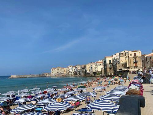 義大利切法盧 Cefalù 必玩 - Spiaggia di Cefalù = Spiaggia Libera 海灘