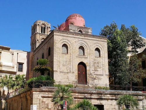 義大利巴勒莫 Palermo 必玩 - Chiesa San Cataldo 聖加大教堂 = 聖卡達多教堂