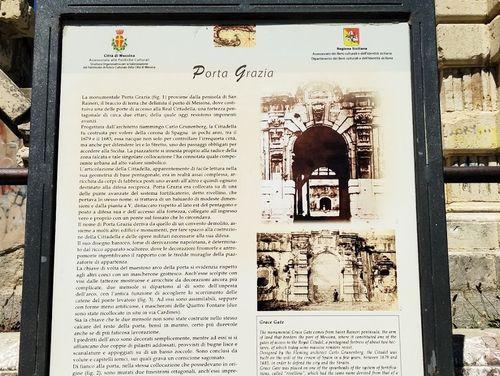 義大利墨西拿 = 美西納 Messina 必玩 - Porta Grazia 格拉西亞門