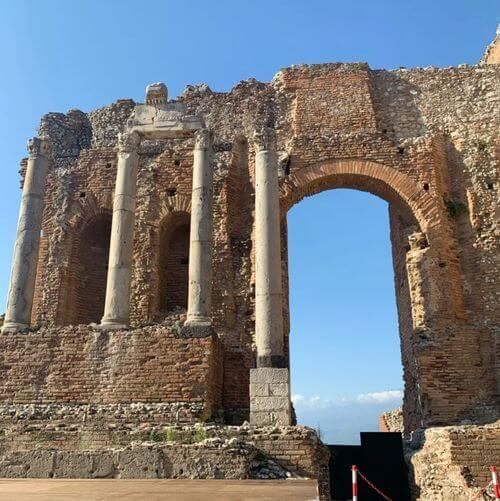 義大利陶爾米納 Taormina (西西里語 Taurmina) 必玩 - Teatro Antico di Taormina 古希臘劇場