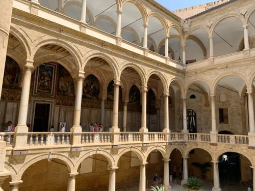 義大利巴勒莫 Palermo 必玩 - Palazzo dei Normanni 諾曼王宮