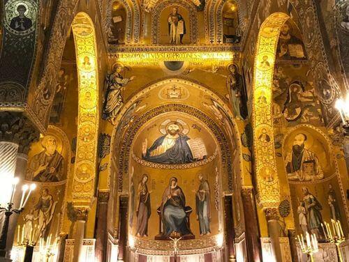 義大利巴勒莫 Palermo 必玩 - Cappella Palatina 帕拉提那禮拜堂 = 宮殿教堂