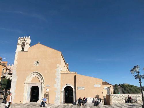 義大利陶爾米納 Taormina (西西里語 Taurmina) 必玩 - Chiesa di Sant' Agostino 聖阿戈斯蒂諾教堂 = 聖奧古斯丁教堂