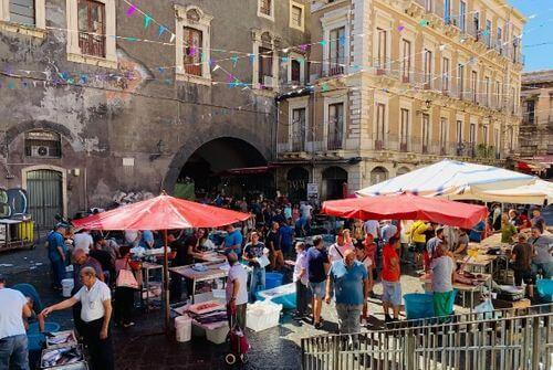 義大利卡塔尼亞 Catania 必玩 - Pescheria di Catania 漁市場