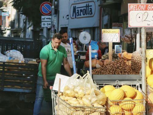 義大利巴勒莫 Palermo 必玩 - Mercato Ballaró 巴拉羅海鮮市場