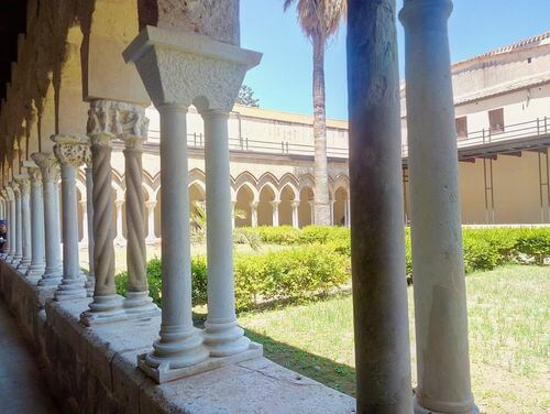 義大利切法盧 Cefalù 必玩 - Chiostro della Cattedrale 修道院迴廊