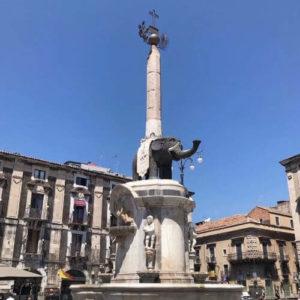 義大利卡塔尼亞 Catania 必玩 - Fontana dell'Elefante 大象噴泉