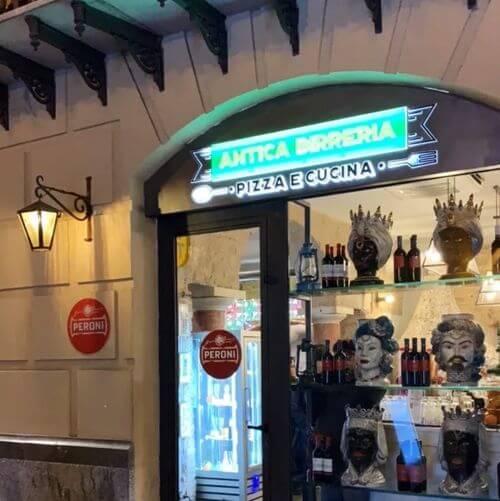 義大利巴勒莫 Palermo 必吃 - Antica Birreria Peroni
